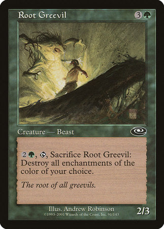 Root Greevil [Planeshift] | Marvin's Army Gaming