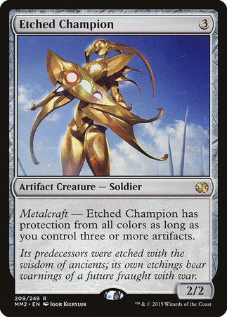 Etched Champion [Modern Masters 2015] | Marvin's Army Gaming