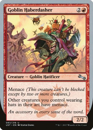 Goblin Haberdasher [Unstable] | Marvin's Army Gaming