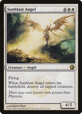 Sunblast Angel [Scars of Mirrodin] | Marvin's Army Gaming