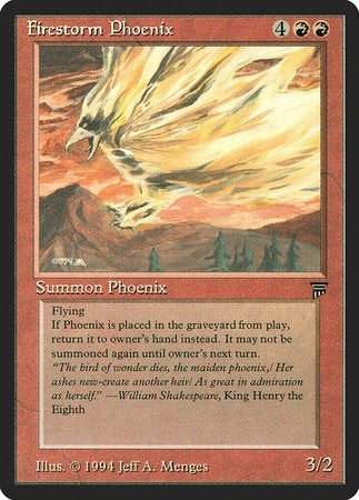 Firestorm Phoenix [Legends] | Marvin's Army Gaming