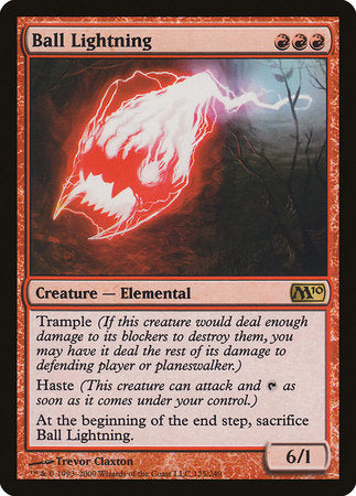 Ball Lightning [Magic 2010] | Marvin's Army Gaming