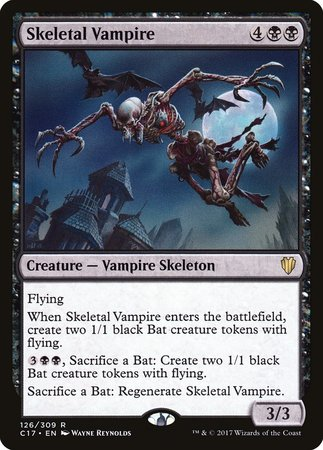 Skeletal Vampire [Commander 2017] | Marvin's Army Gaming