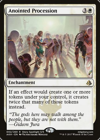 Anointed Procession [Amonkhet] | Marvin's Army Gaming