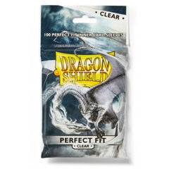 Dragon Shield 100ct Bag Perfect Fit Clear | Marvin's Army Gaming