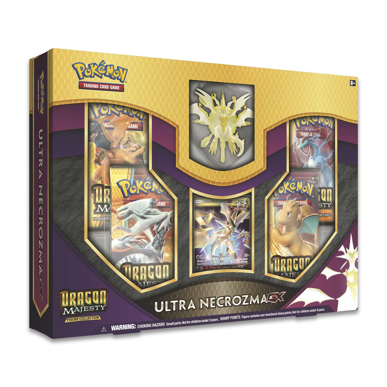 Pokémon TCG: Dragon Majesty Figure Collection with Ultra Necrozma-GX | Marvin's Army Gaming
