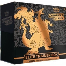 Pokémon TCG: Champion's Path Elite Trainer's Box | Marvin's Army Gaming