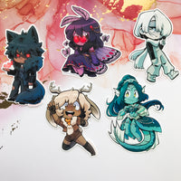 Cryptid Cuties Stickers (Wave 1)