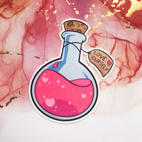 Love Yourself Potion Sticker