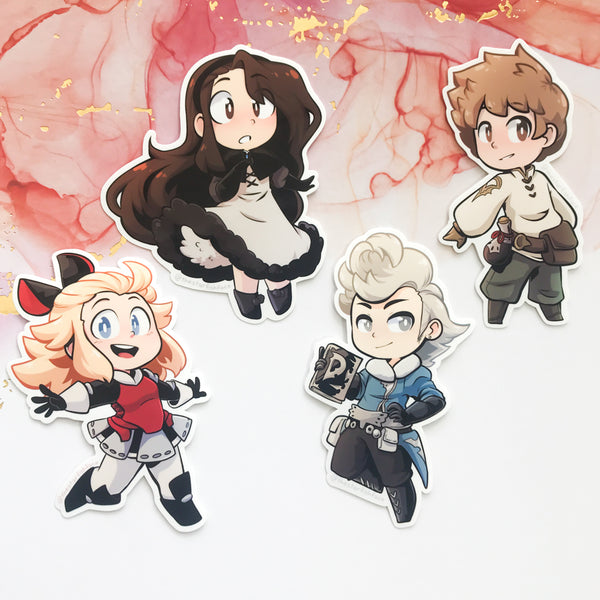 Bravely Default Stickers