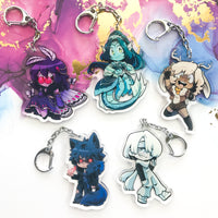 Cryptid Cuties Acrylic Charms (Wave 1)
