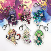 Tokyo Mew Mew Holographic Acrylic Charms