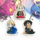 Fire Emblem House Leader Acrylic Charms