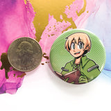 Rune Factory 4 Buttons - Frey + Bachelors