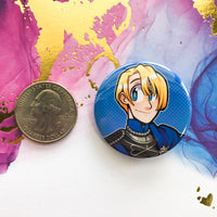 Blue Lions Buttons - Fire Emblem 3 Houses