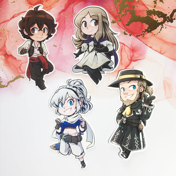 Bravely Default 2 Stickers
