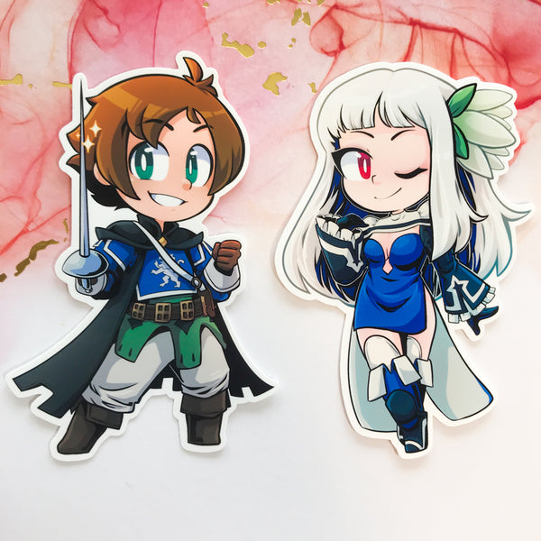 Bravely Second Stickers