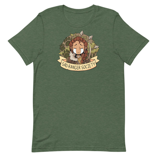 Sad Ranger Society Unisex T-Shirt (4 Colors Available!)