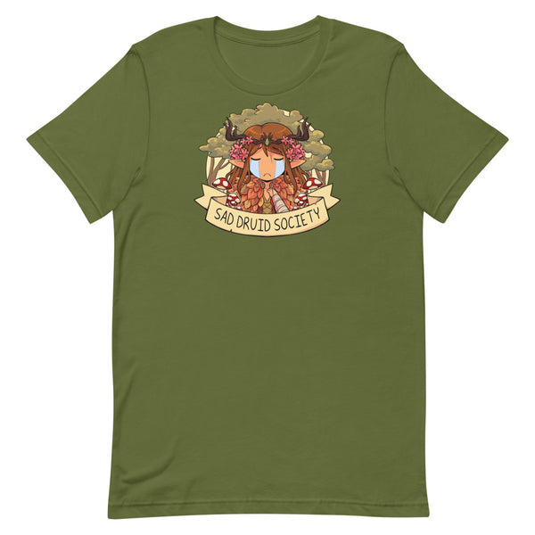 Sad Druid Society Unisex T-Shirt (4 Colors Available!)