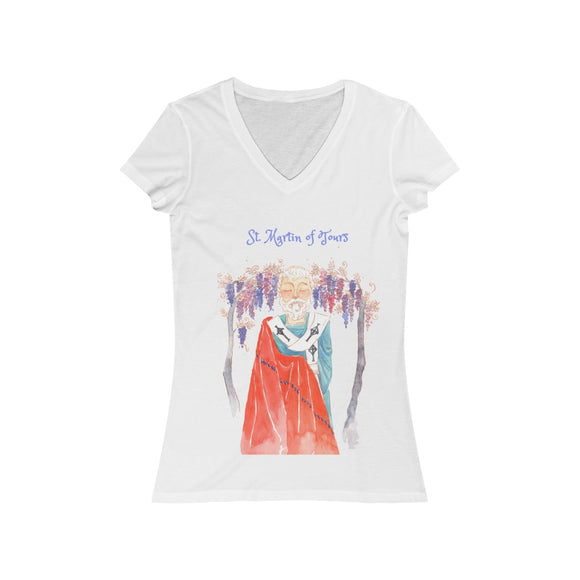 St. Martin of Tours - Women's V-Neck T-Shirt