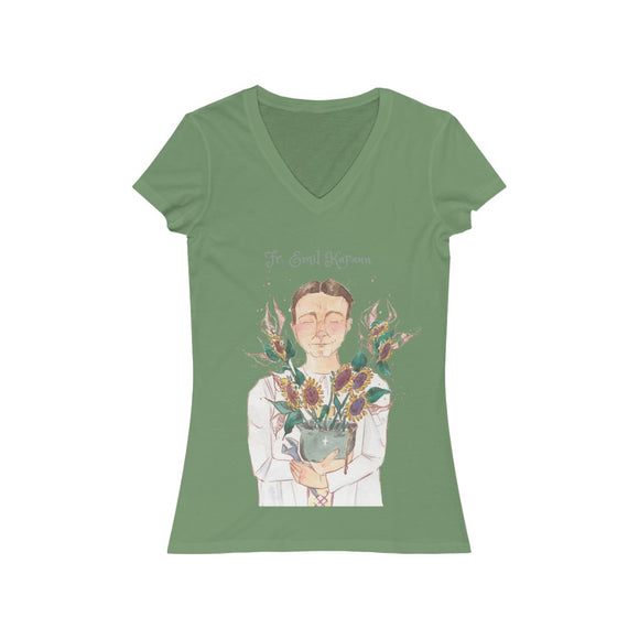 Fr. Emil Kapaun - Women's V-Neck T-Shirt