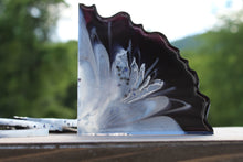 Load image into Gallery viewer, Resin geode coaster set - black & silver