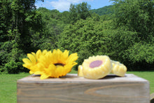 Load image into Gallery viewer, Sunflower handmade soap