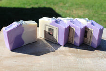Load image into Gallery viewer, Lavender handmade soap