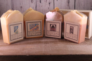 Flight of beer soaps