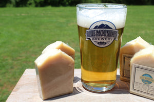 Kolsch Beer soap-Blue Mountain Brewery