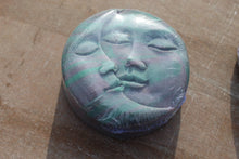 Load image into Gallery viewer, Moon Face handmade soap-grape