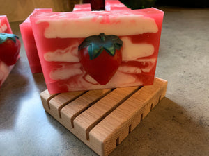 Strawberry Shortcake handmade soap