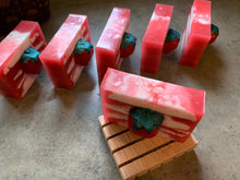 Load image into Gallery viewer, Strawberry Shortcake handmade soap