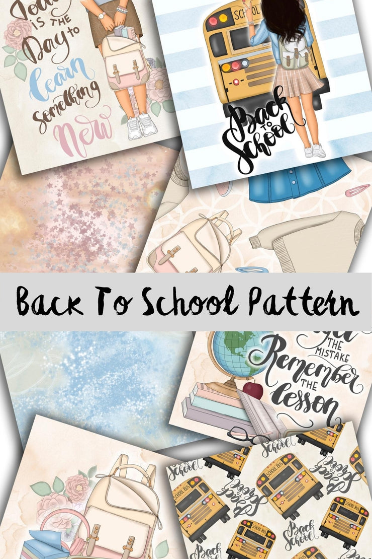 Back To School Paper Pack