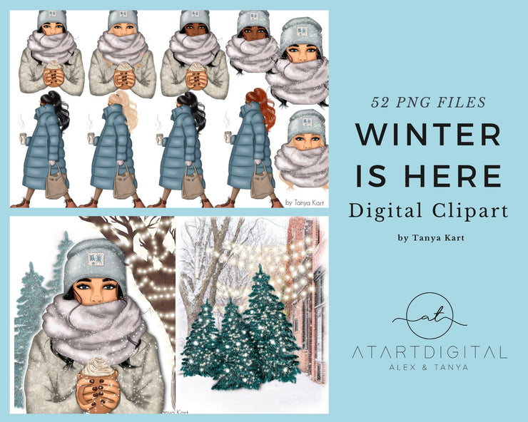 Winter Is Here Clipart