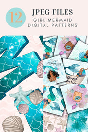 You Are Mermaizing Digital Paper
