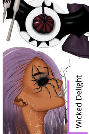 Wicked Delight Halloween Clipart