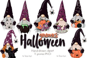 Halloween Gnomes Clipart