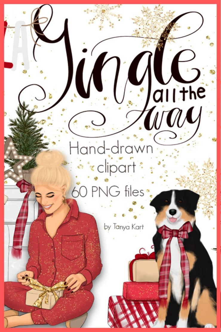 Jingle All The Way Clipart