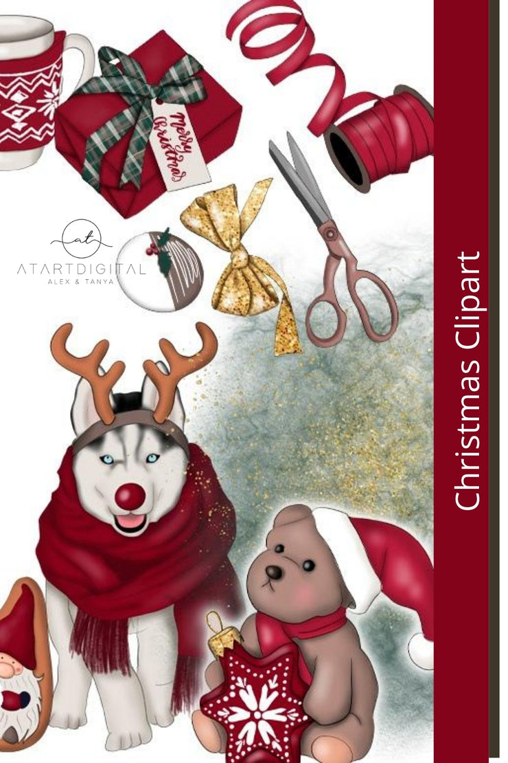 It's The Most Wonderful Time Of The Year Christmas Clipart
