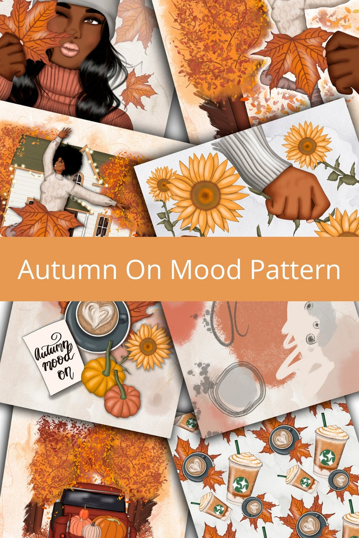 Autumn Mood On Papers
