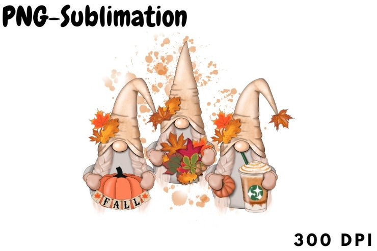 Fall Gnomes Autumn Design