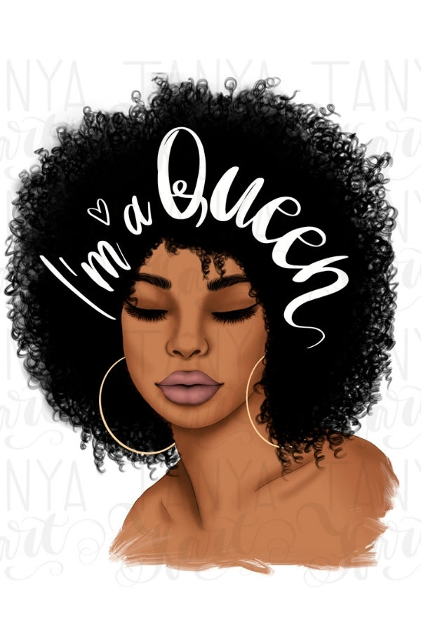 I'm A Queen | Afro Woman
