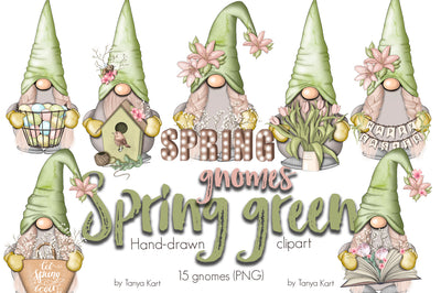 Spring Green Gnomes Icons