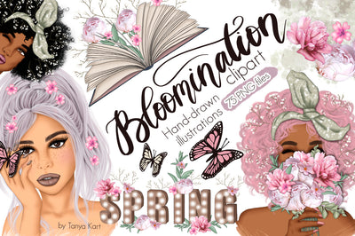 Bloomination Clip Art