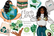 Earth Love Clipart