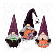 Halloween October Gnomes Png