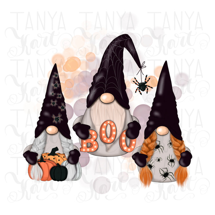 Halloween Sublimation Gnome For Holiday