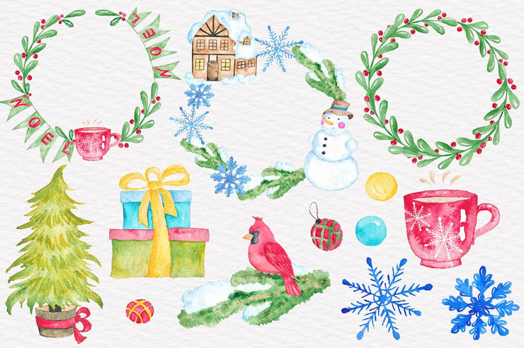 Christmas Time In The City Clipart