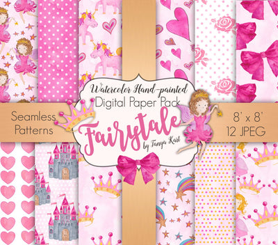 Fairytale Digital Paper